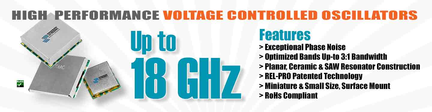 Voltage Controlled Oscillators - VCO package image