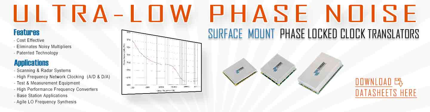 Phase locked oscillator surface mount package image