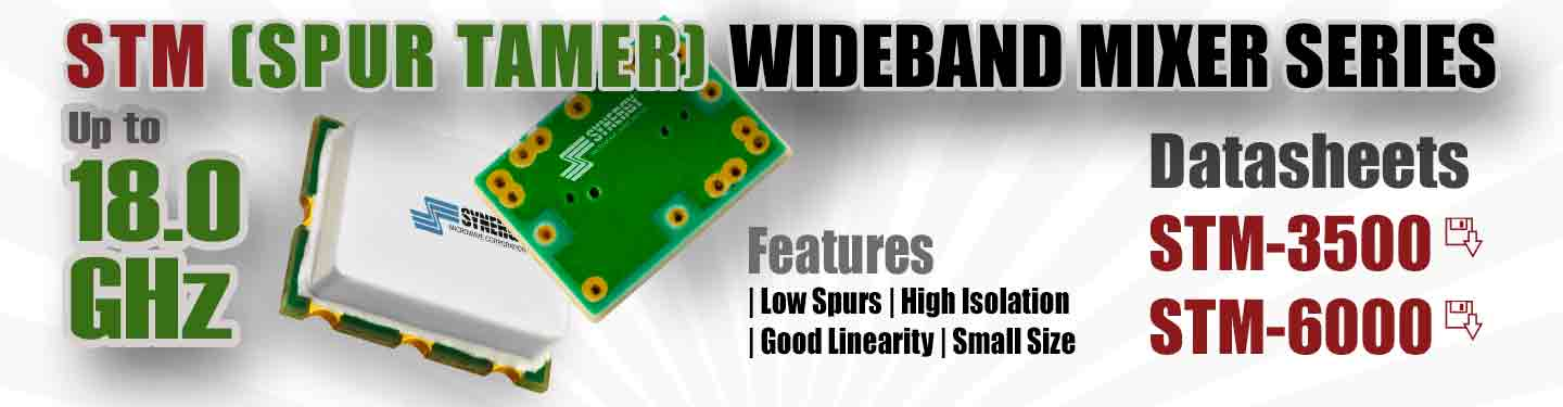 Spur tamer wideband mixers package image